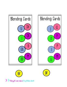Interactive Blending Cards