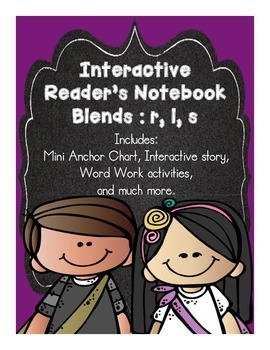 Interactive Blends for Reader's Notebook