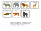 Interactive Book: A Trip to the Zoo; Special Education; Autism; Preschool;