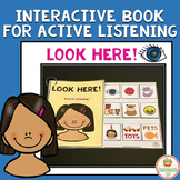 Active Listening Eyes  Interactive book