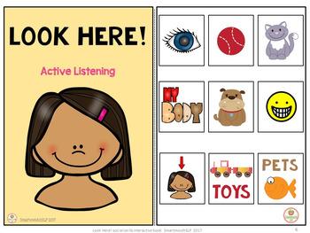 Active Listening Eyes  Interactive book