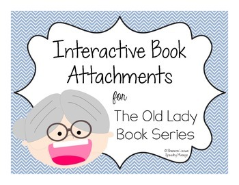 Interactive Book Attachments for the Old Lady Book Series