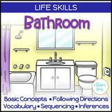 Bathroom Life Skills Interactive Book Speech Therapy