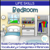 Bedroom Life Skills Interactive Book Speech Therapy