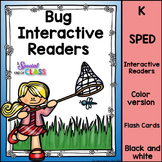 Adapted Books for Special Education Bugs