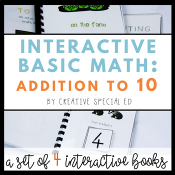 Interactive Book Bundle: Addition to 10