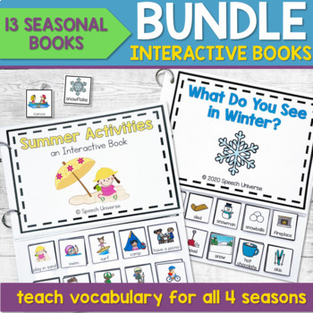 Interactive Book Bundle: Seasons