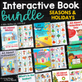 Interactive Book Bundle  |  Seasons and Holidays
