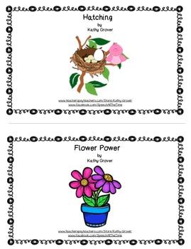 Interactive Book Bundle for Spring
