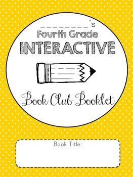 Interactive Book Club Booklet!
