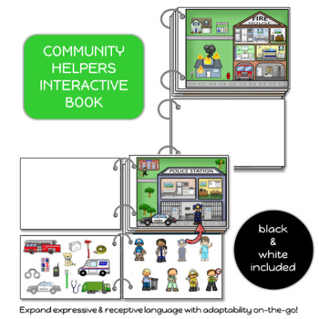 Interactive Book: Community Helpers
