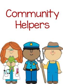 Interactive Book- Community Helpers