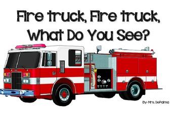 Interactive Book- Fire Truck, Fire Truck