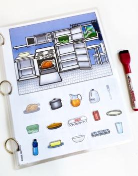 Interactive Book: Kitchen