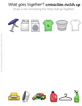 Interactive Book: Laundry