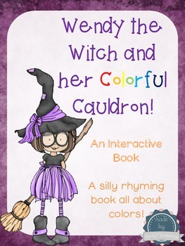 Interactive Book- Learn Colors in a Rhyming Story