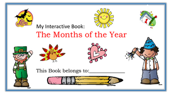 Interactive Book: Months of the Year