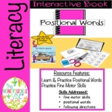 Interactive Book Positional Words