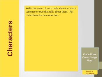 Interactive Book Report Alternative