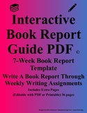 Interactive Book Report Guide PDF