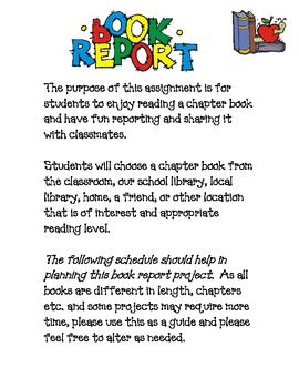 Interactive Book Report Project