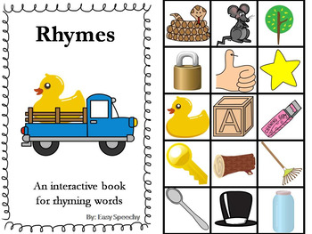 Interactive Book - Rhyming