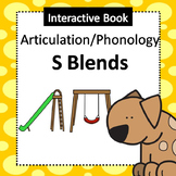 Interactive Book for Articulation - /s/ blends