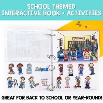 Interactive Book: School