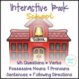 School Interactive Book Speech Therapy
