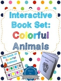 Learn Colors- Colorful Animals Interactive Book