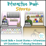 Stores Social Skills Interactive Book Speech Therapy