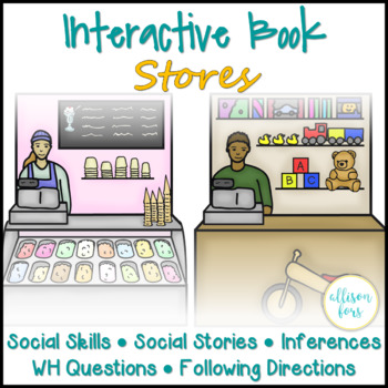 Interactive Book: Stores Language & Social Skills
