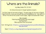 Interactive Book: Where are the Animals?