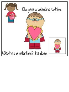 Interactive Book: Who Has a Valentine?