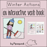 Interactive Book:  Winter Actions
