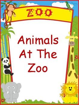 Interactive Book- Zoo Animals