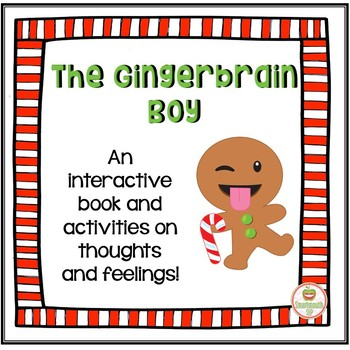 Interactive Book and Activities, Gingerbread Social Skills