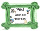Interactive Book and PECS Activity; Pets and Pet Food