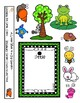 Interactive Book and PECS Activity Set; Garden, Big+Little Theme