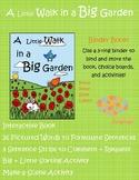 Big+Little/Garden Theme, Interactive Book and PECS Activity Set-Autism Support