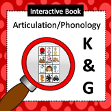 Interactive Book for Articulation-Initial and Final /k/ and /g/