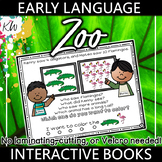 Speech Therapy: Language Therapy Interactive Book (Targets 15 Early Skills)
