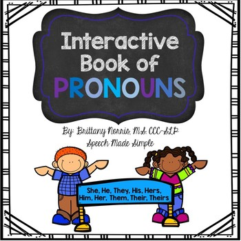 Interactive Book of Pronouns