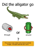 "Interactive Book to Teach Prepositions ""Through"" and ""Around"""