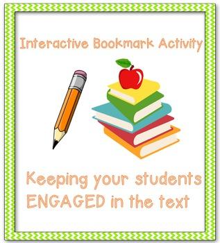 Interactive Bookmark Activity