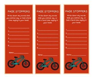 Interactive Bookmark Literacy