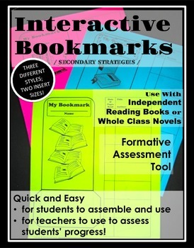 Interactive Bookmark: Reading and Formative Assessment