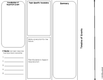 Interactive Bookmark for Nonfiction Texts
