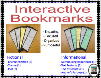 Interactive Bookmarks
