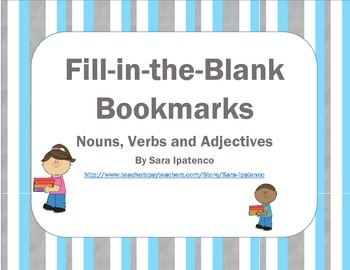 Interactive Bookmarks To Use During Read to Self